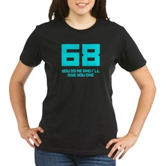 Let's 68! Organic Women's T-Shirt (dark)