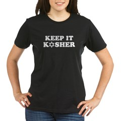 Keep it Kosher Organic Women's T-Shirt (dark)