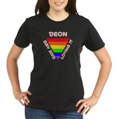Deon Gay Pride (#007) Organic Women's T-Shirt (dark)