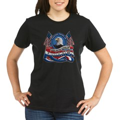 Taking Pride In The United S Organic Women's T-Shirt (dark)