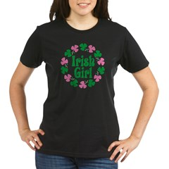 Irish Girl Organic Women's T-Shirt (dark)