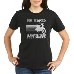 My Moped Organic Women's T-Shirt (dark)