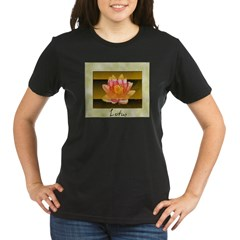 Good Morning Lotus Organic Women's T-Shirt (dark)