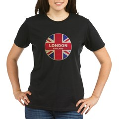 UNION JACK LONDON Organic Women's T-Shirt (dark)