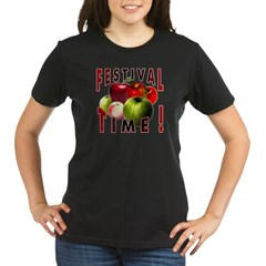 Apple Festival Time ! Organic Women's T-Shirt (dark)