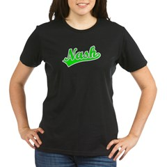 Retro Nash (Green) Organic Women's T-Shirt (dark)