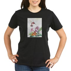 Adorable Hummers Organic Women's T-Shirt (dark)