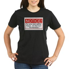 Notice / Bankers Organic Women's T-Shirt (dark)