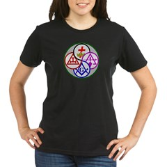 York Rite Organic Women's T-Shirt (dark)