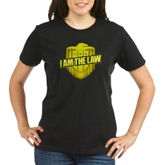 I AM THE LAW: Judge Dredd Organic Women's T-Shirt (dark)