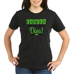 CancerWrongDiva Organic Women's T-Shirt (dark)