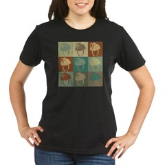 Caving Pop Art Organic Women's T-Shirt (dark)
