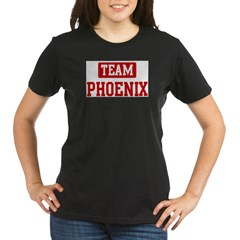 Team Phoenix Organic Women's T-Shirt (dark)