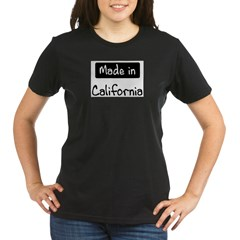 Made in California Organic Women's T-Shirt (dark)