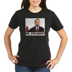 Mr. Presiden Organic Women's T-Shirt (dark)