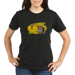 Brown chicken Brown Cow Organic Women's T-Shirt (dark)