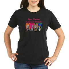 More Veterinary Organic Women's T-Shirt (dark)