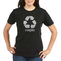 Vintage Recycle Organic Women's T-Shirt (dark)