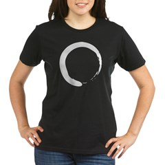 Enso - Zen Circle Organic Women's T-Shirt (dark)