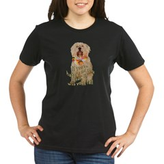 happy wheaten terrier Organic Women's T-Shirt (dark)