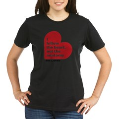 Alice L Word Quote Organic Women's T-Shirt (dark)