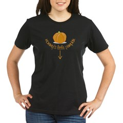 mommy's little pumpkin Organic Women's T-Shirt (dark)