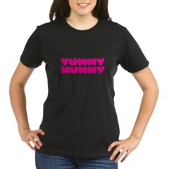 Yummy Mummy Organic Women's T-Shirt (dark)