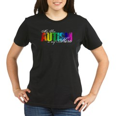 My Son My Hero - Autism Organic Women's T-Shirt (dark)