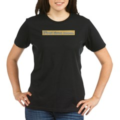 First time mo Organic Women's T-Shirt (dark)