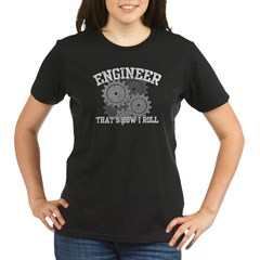 Engineer Organic Women's T-Shirt (dark)