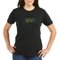Owl always love you! Organic Women's T-Shirt (dark)