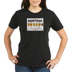 Beer Team 6 Logo Organic Women's T-Shirt (dark)