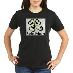 Feis Mom Organic Women's T-Shirt (dark)
