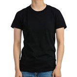 Women's Fitted T-Shirt (dark)