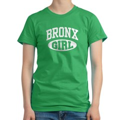 Bronx Girl Women's Fitted T-Shirt (dark)