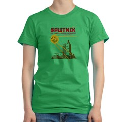 SPUTNIK 2 Women's Fitted T-Shirt (dark)