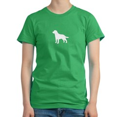 Labrador Retriever Women's Fitted T-Shirt (dark)