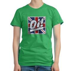 Oi Women's Fitted T-Shirt (dark)