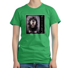 Otterhound Women's Fitted T-Shirt (dark)