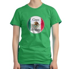 Cinco de Mayo Women's Fitted T-Shirt (dark)