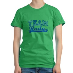 Team Rudy 2008 Women's Fitted T-Shirt (dark)