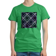 Kaleidoscope Women's Fitted T-Shirt (dark)