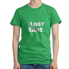 I Just Lost The Game Women's Fitted T-Shirt (dark)