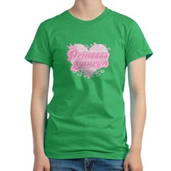 Princess Lauryn Women's Fitted T-Shirt (dark)