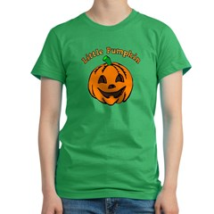 Little Pumpkin Women's Fitted T-Shirt (dark)