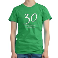 30th Birthday Women's Fitted T-Shirt (dark)