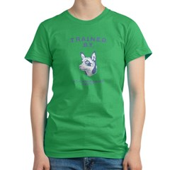 Lancashire Heeler Women's Fitted T-Shirt (dark)