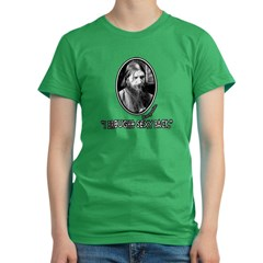 RASPUTIN Funny Fake Quote Women's Fitted T-Shirt (dark)