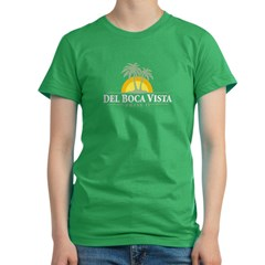 Del Boca Vista Women's Fitted T-Shirt (dark)