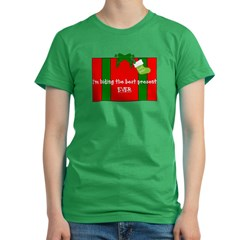 Jingle-Wear Women's Fitted T-Shirt (dark)